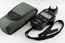 Excellent++ Minolta Auto Meter IV F Ambient/Flash Light Meter from Japan #610