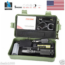 8000lm X800 Flashlight CREE XM-L T6 LED Zoom Military Torch ShadowHawk   Battery