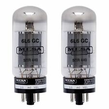 Mesa Boogie 6L6 STR-440 Power Tubes Matched Pair 6L6GC Tube