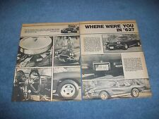 "1962 Corvette Vintage Street Machine Article ""Where Were You in '62?"""