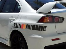 2x Ralli Art Rally Racing Sports 4x4 Car Vinyl Sticker Decal fits to Evo Lancer