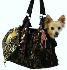 DOG CARRIER PET PURSE DOG HAND BAG POUCH TOTE DOGS UP TO 15 LBS MADE IN USA new