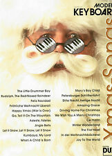 Keyboard Noten : Xmas-Songs Christmas Pop leicht WEIHNACHTEN Loy Modern Keyboard