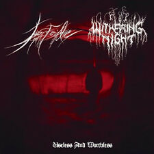 Withering Night / Force Fed Life Split CD (Happy Days, Hanging Garden)
