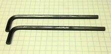 "TWO 5/32"" Hex Keys (Allen Wrenches)  /  ALLOY STEEL - LONG Arm - INCH/SAE  USA"