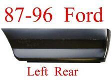 87 96 Ford LEFT REAR Lower Bed Patch Panel, F150, Truck, 1.2MM Thick, 577-60L