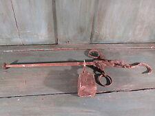 Ancienne petite Balance Romaine fléau d'Epicier Marché french antique tools 1859