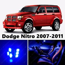 10pcs LED Blue Light Interior Package Kit for Dodge Nitro 2007-2011