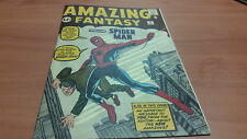 Amazing Fantasy 15 Custom Made Cover with Original Reprint Great & Affordable