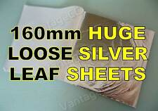 50x Silver Loose Leaf Sheets in Booklets, 160mm! Gilding Crafts Scrapbooking