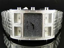 Mens Techno Com KC Joe Rodeo 5 Timezone Master W5T40M Diamond Watch .50 Ct