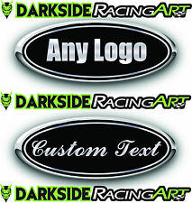 FORD F250/F350 FORD CUSTOM EMBLEM DECAL/STICKER LOGO OVERLAY PRINTED REAR 8.25