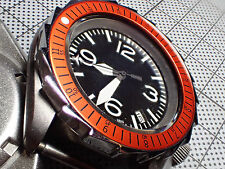 THE.SCANDI.ONE -ORANGE- SEIKO BEZEL INSERT F.SEIKO SKX007 W.LUMINOUS DOT Z-04-C