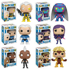 Funko POP! Heroes Vinyl Bobble-Heads - Marvel X-Men S2 - SET OF 6 (Storm, Cable+