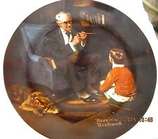 Vintage 1982 Knowles Norman Rockwell Heritage Collection The Tycoon Plate