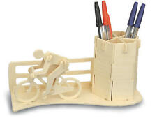Racing Bicycle  Bike Pen Holder 3D Wooden Modelling Kit Model Puzzle