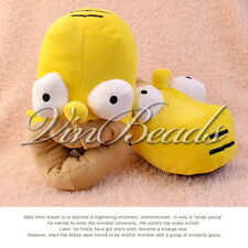 Winter Novelty Cute Anime The Simpsons Homer Funny Slippers Adult Home Slippers