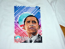 New Obama 2012 Yes We Can Do It Again T-Shirt by Bayside Made in USA XL Rare!