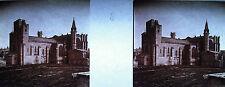 Photographie stéréoscopique Basilique Saint Nazaire de Carcassonne vers 1920