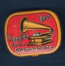 Boite Aiguilles Gramophone - Best Needles Rouge - Pleine environ 200 Aiguilles
