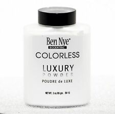GENUINE BEN NYE LUXURY FACE POWDER BRAND NEW SEALED NO COLOUR SETTING POWDER 3oz