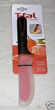 T-fal Silicone Spatula Straight Contoured Edge Spreader Cooking Kitchen