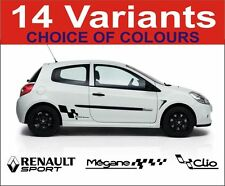 renault clio megane 172 182 renault sport decals graphics sticker