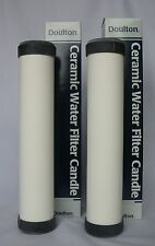 "DOULTON STERASYL SLIMLINE 10"" CERAMIC WATER FILTER CARTRIDGE - Pack of Two"