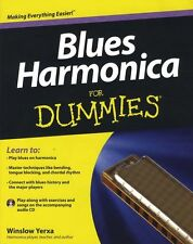 Blues Harmonica For DUMMIES Learn to Play Mouth Organ Harp Music Book & CD