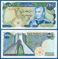 PERSIEN / PERSIA 200 Rials (1974-79)  Schah Pahlavi  aUNC  P.103