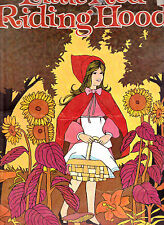 Little Red Riding Hood Giant Coloring Book 1970s Playmore