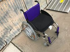 TiLite TR Wheelchair Alber M12 Motor Set w/ Invacare Matrix PS Seat Cushion