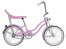 "Micargi 20"" Lowrider Beach Cruiser Bicycle Bike Low Rider Girls frame Pink"