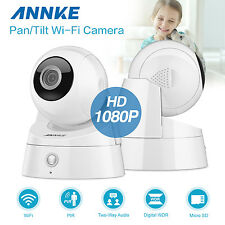 ANNKE Indoor 2pcs HD 1080P Wireless WIFI Home CCTV Network IP Camera System UK