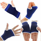 A Pair Wrist Hand Support Safety Glove Elastic Brace Sleeve Sports Bandage Pads
