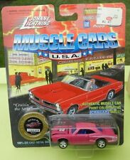 #5 PINK 70 DODGE CORONET SUPER BEE SCAT PACK BOYS 1970 1995 JOHNNY LIGHTNING JL