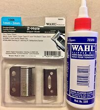 WAHL PROFESSIONAL 2 HOLE CLIPPER BLADE  #1006 UPC, 043917100609 & WAHL OIL 4OZ