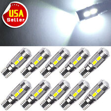10x HID White Canbus T10 10-SMD Projector LED Backup Reverse Light Bulb W5W 921