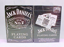 1 Deck Bicycle Jack Daniels Old No 7 Standard Poker Playing Cards New In Box