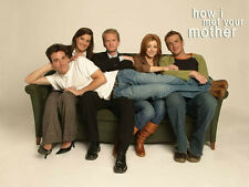 How I met Your Mother Cast Poster! CBS Ted Mosby Manhattan 2030 Craig Thomas