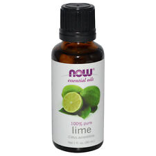 Lime (100% Pure), 1 oz - NOW Foods Essential Oils