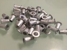 50 pcs x M10 Aluminum Threaded Rivet Nut Inserts Rivnut 10mm