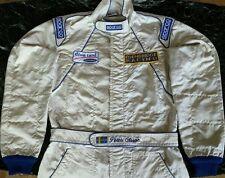 Original race used suit Peter Olsson F3000