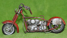 ALL METAL VINTAGE HANDMADE MODEL MOTORCYCLE