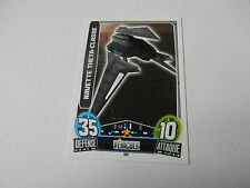 Topps Force Attax Star Wars Navette Theta-Classe !!!