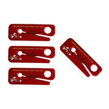 LINE2design Emergency Seat Belt Cutters EMS Firefighter - Safety Tool 4 Pack