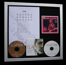ERIC CLAPTON Layla GALLERY QUALITY CD FRAMED DISPLAY+EXPRESS GLOBAL SHIPPING