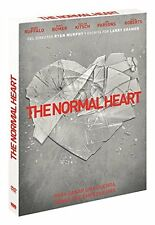 THE NORMAL HEART (2014 Julia Roberts)   -  DVD - PAL Region 2 - New