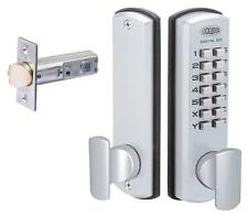 Lockwood Digital Door Lock 530DXSCDP Keyless 530 DX Entrance Set Satin Chrome