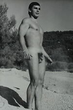 JEAN FERRERO MÄNNER AKT FOTO MALE NUDE PHOTO 60' EROTIC MODEL BUD LANTER rare
